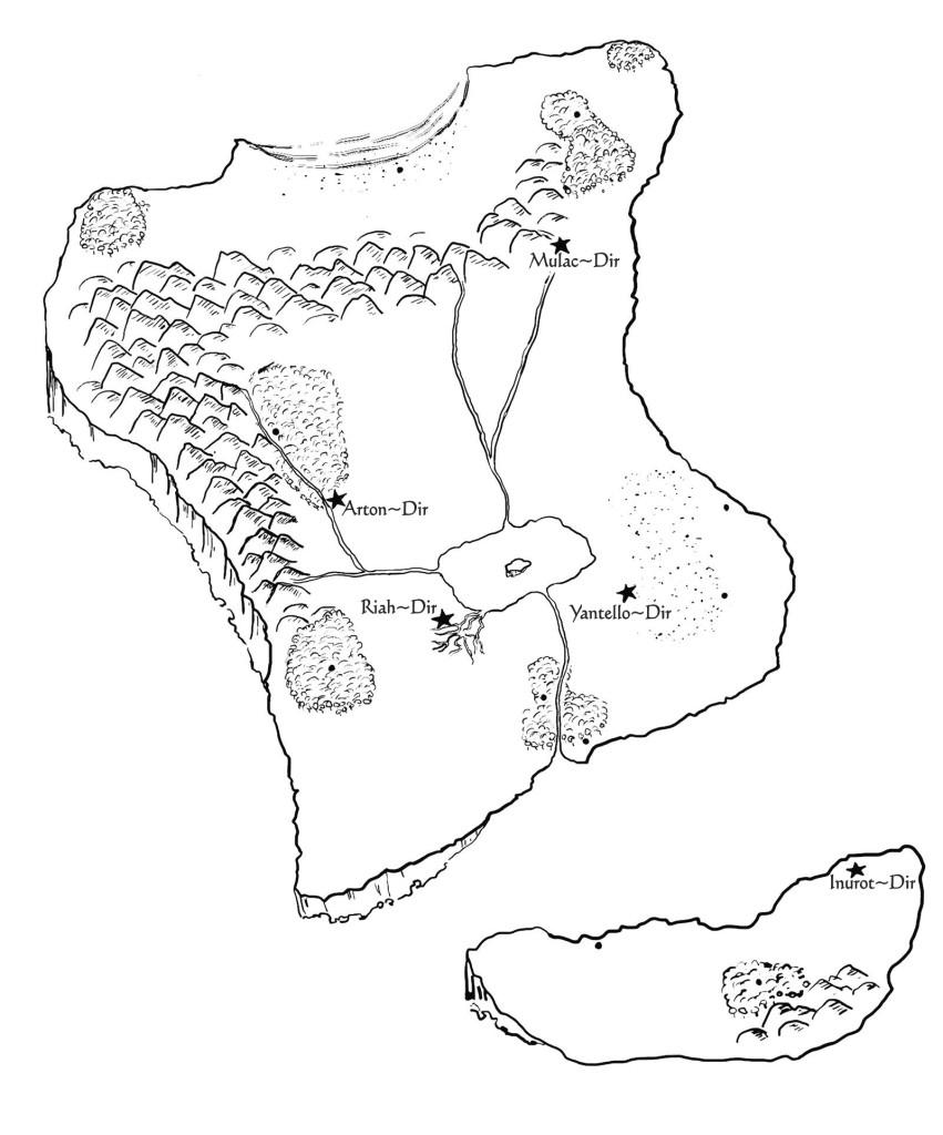bw map